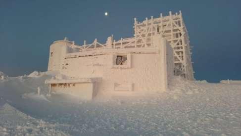У Карпатах падає сніг та мороз